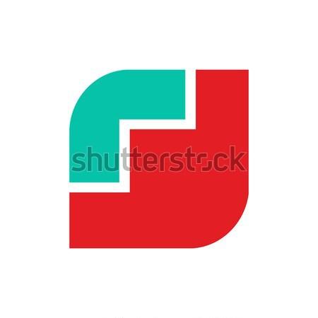 Pipacs logo piros virág embléma szimbólum Stock fotó © popaukropa