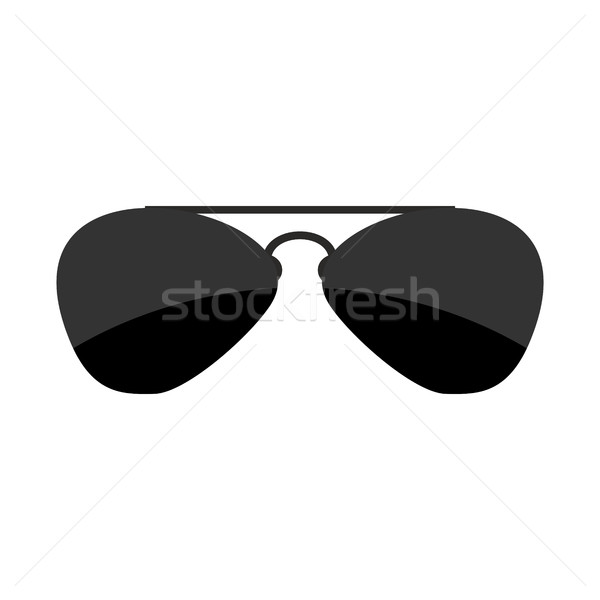 Sunglasses isolated. Accessory from sun on white background Stock photo © popaukropa