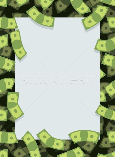 Foto d'archivio: Frame · fuori · soldi · molti · dollari · battenti