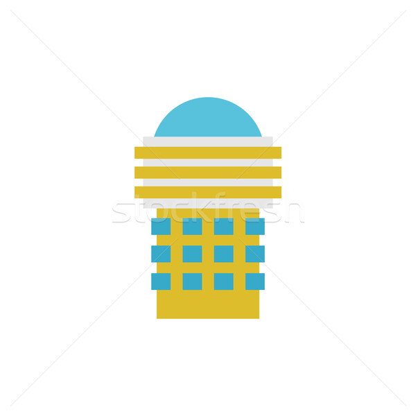 Building, house and architecture object. Business Property. Urba Stock photo © popaukropa