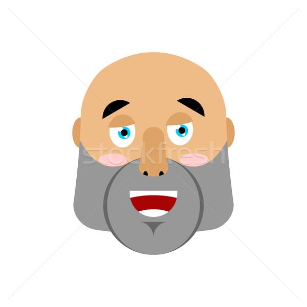 ストックフォト: 残忍な · 男 · 幸せ · 男性 · 顔 · 陽気な