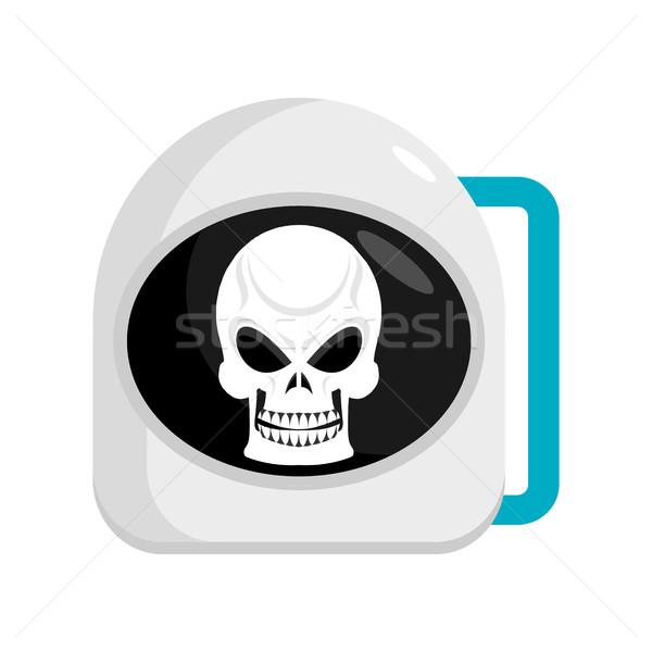Сток-фото: череп · шлема · астронавт · космонавт · Cap · голову
