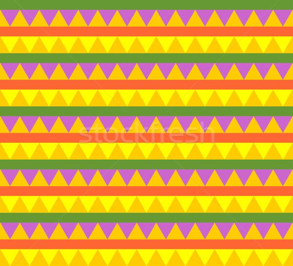 Foto stock: Mexicano · tradicional · textura · tela · moderna