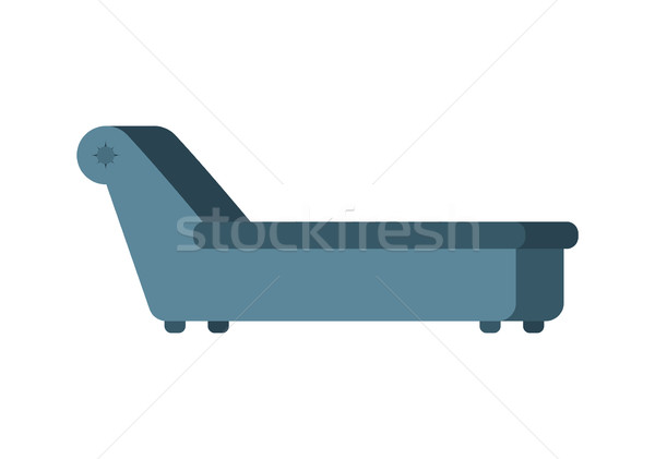 Psychologist couch isolated. Psychotherapist furniture for patie Stock photo © popaukropa