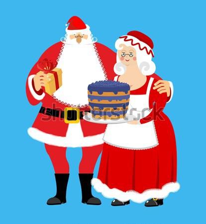 悪い サンタクロース ビール シガー サンタクロース 酔っ ストックフォト © popaukropa