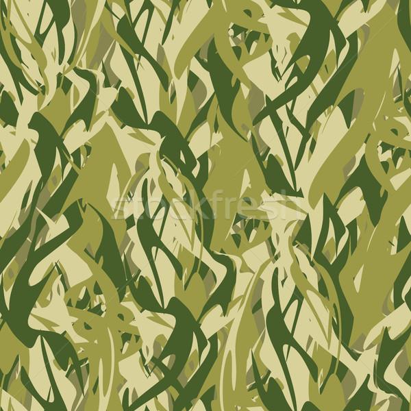 Katonaság textúra űrlap tűz álca hadsereg Stock fotó © popaukropa