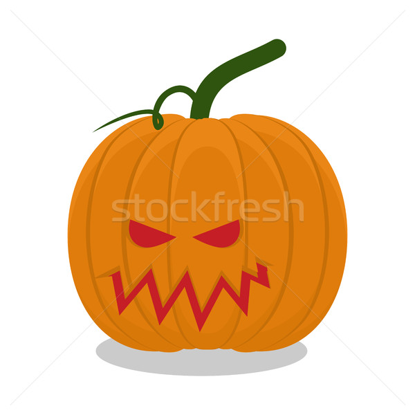 Scary pumpkins for Halloween. terrible holiday symbol Stock photo © popaukropa