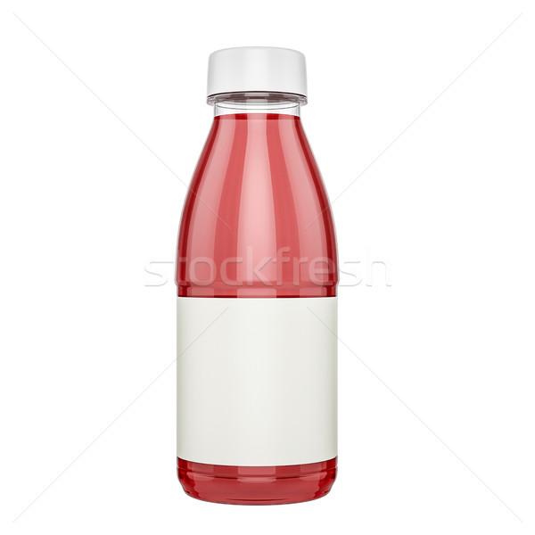 Műanyag üveg üveg dzsúz lekvár tej Stock fotó © pozitivo