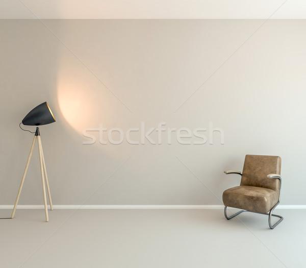 Wall art background Stock photo © pozitivo