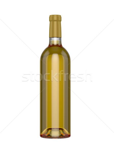üveg fehér kész kreatív terv háttér Stock fotó © pozitivo