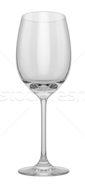 üres üveg fehér felfelé könnyű hely Stock fotó © pozitivo