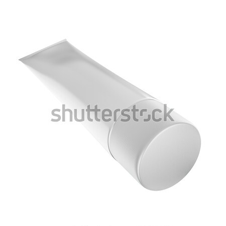 Toothpaste Tube for Cosmetic Package Mock up Stock photo © pozitivo