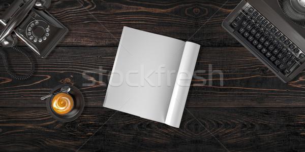 Hős fejléc kép weboldal könnyű hely Stock fotó © pozitivo