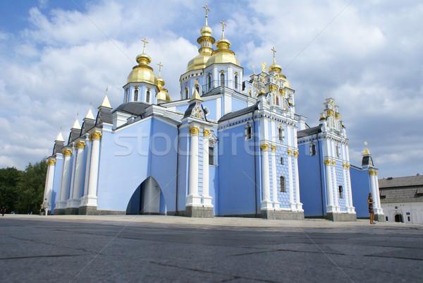 Tempel klooster heilig hemel zomer kerk Stockfoto © Pozn