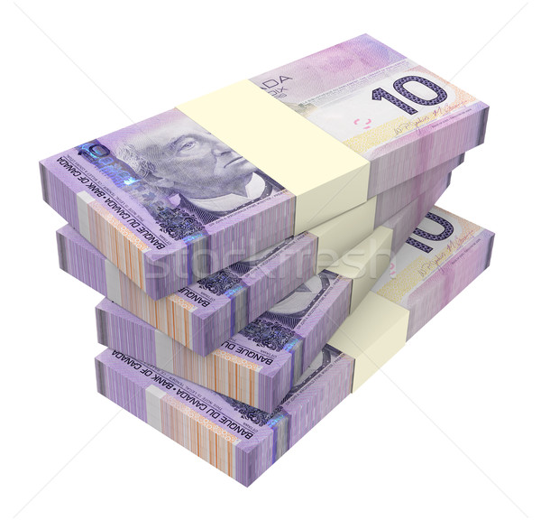 Dollars money isolated on white background. Stock photo © ppart