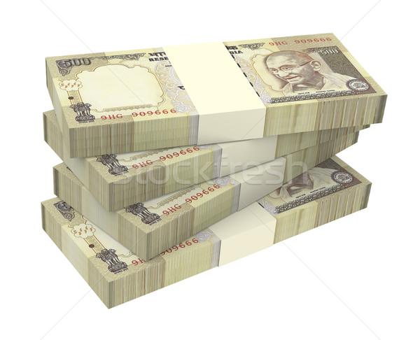 India aislado blanco ordenador generado 3D Foto stock © ppart