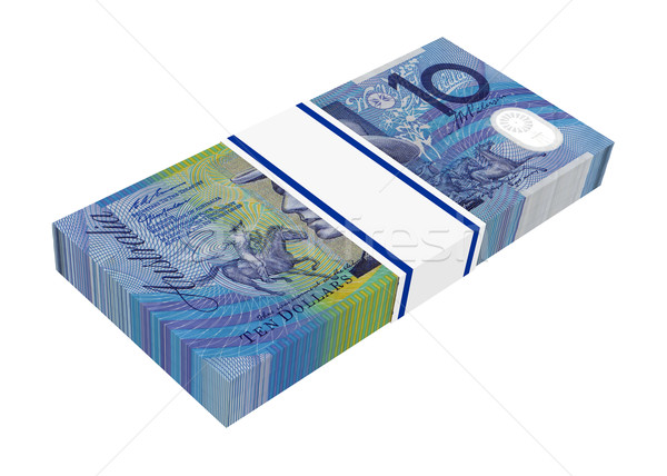 Australian dollar isolated on white background.  Stock photo © ppart