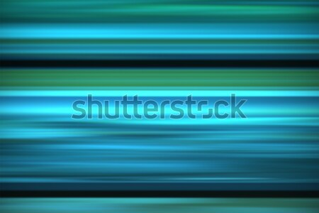 Stock photo: Abstract green wave background.
