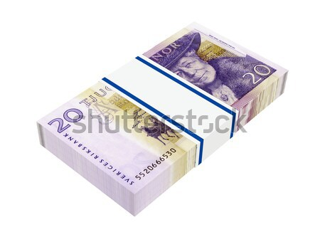 Canadian money on white.  Stock photo © ppart