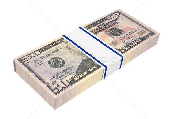 Dollars money isolated on white.  Stock photo © ppart