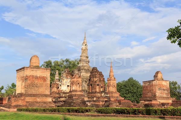Tarihsel park Tayland yıl ağaç Stok fotoğraf © prajit48