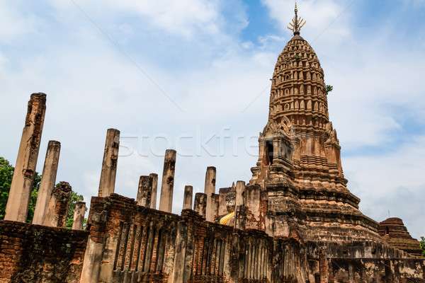 исторический парка старый город Таиланд год дерево Сток-фото © prajit48