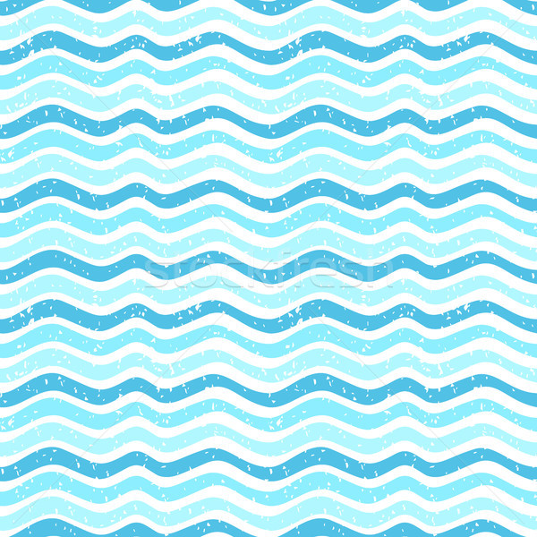 Seamless abstract vector pattern with waves and texture for paper and fabric design Stock photo © Pravokrugulnik