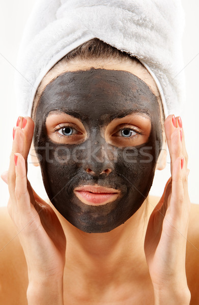 Facial care Stock photo © pressmaster