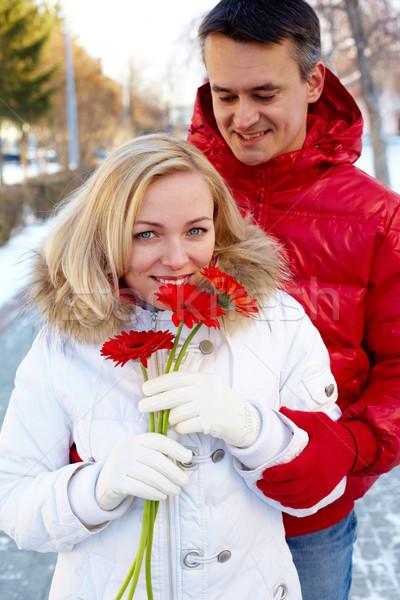 Couple outdoor Stock photo © pressmaster