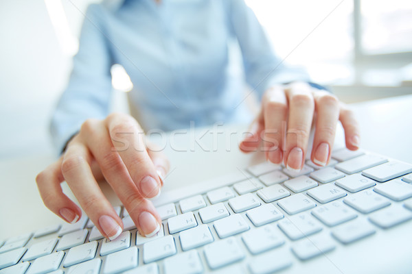 Busy secretary Stock photo © pressmaster