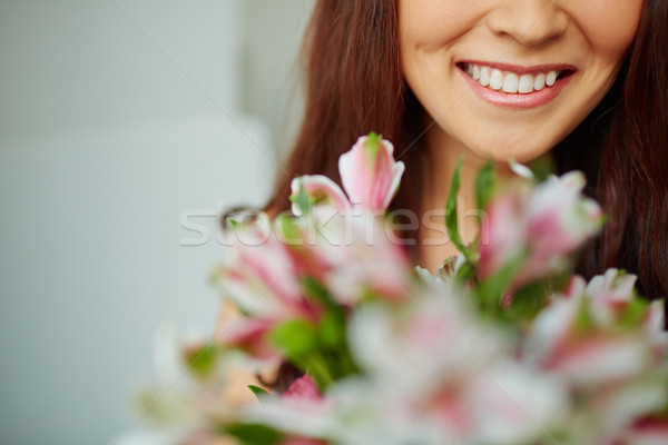 Toothy smile Stock photo © pressmaster
