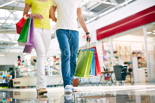 Photo stock: Jambes · Mall · famille · homme · Shopping