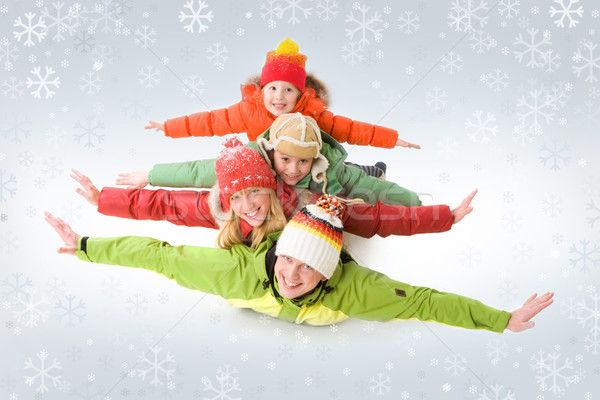 Winter holiday Stock photo © pressmaster