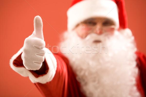 Thumb up Stock photo © pressmaster