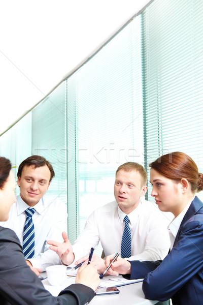 Discussion Stock photo © pressmaster