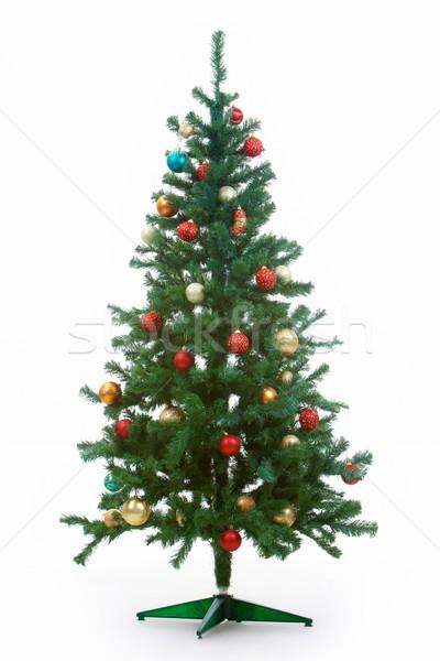 Decorated firtree Stock photo © pressmaster