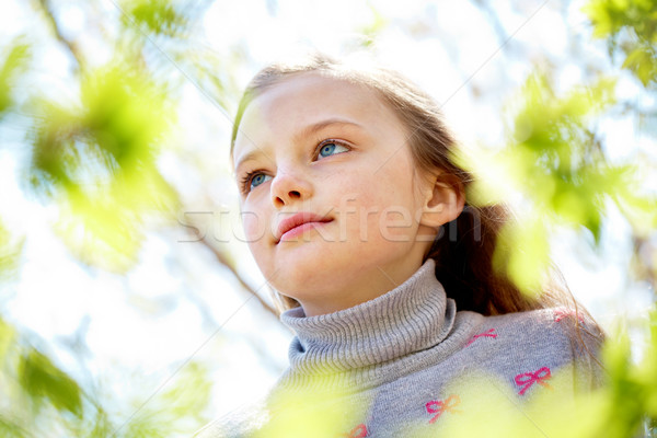 Stock photo: Serene child
