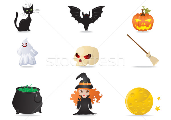 halloween icons      Stock photo © pressmaster