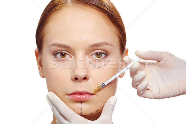 Botox therapy Stock photo © pressmaster