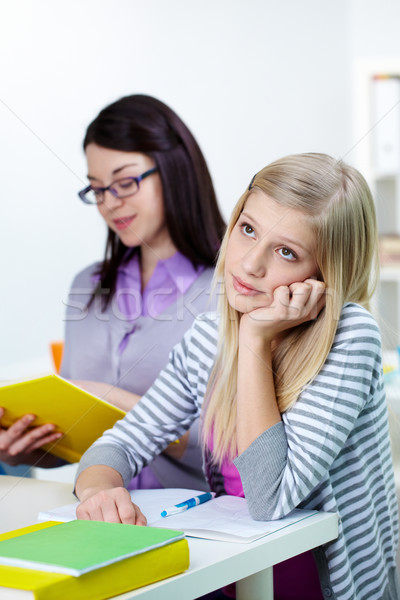Boring lesson Stock photo © pressmaster