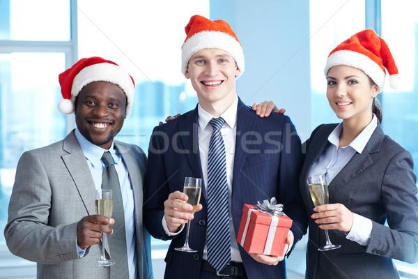 Stockfoto: Vieren · christmas · drie
