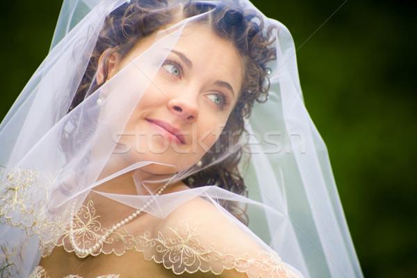 Verlobte Porträt frischen schönen jungen Modell Stock foto © pressmaster