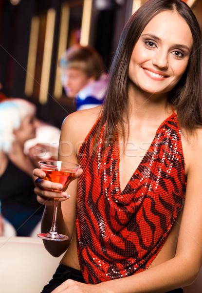 модный девушки портрет счастливым женщину Сток-фото © pressmaster