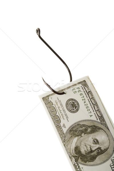 Caught banknote Stock photo © pressmaster