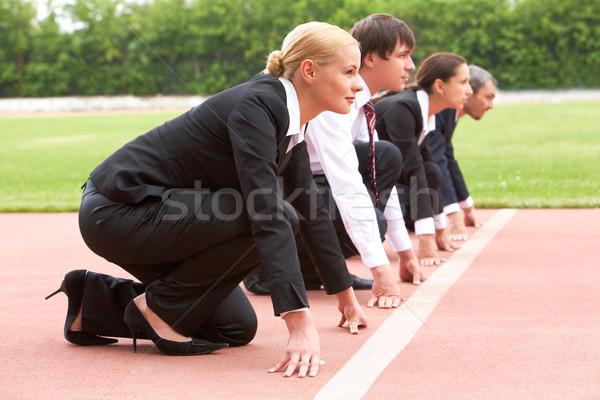 Business marathon Stock photo © pressmaster