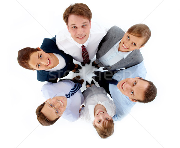 Stock photo: Friendly partners