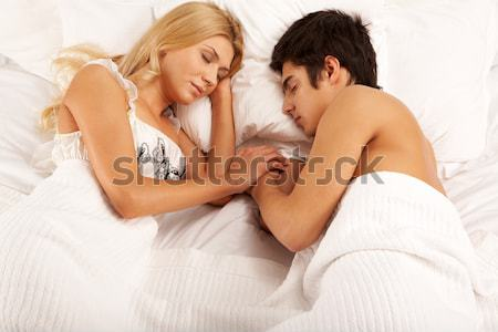 Sleeping together  Stock photo © pressmaster