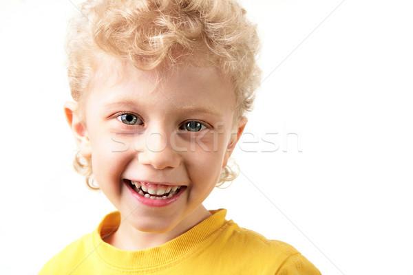 Joyful lad Stock photo © pressmaster