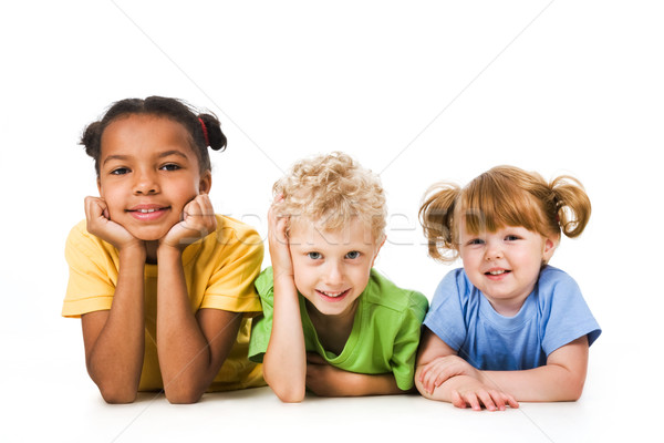 Row of children  Stock photo © pressmaster