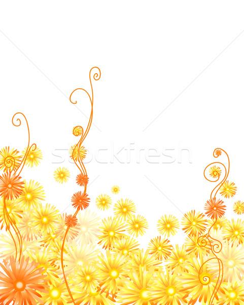 Stok fotoğraf: Altın · bahar · soyut · arka · plan · yaz · turuncu